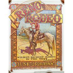 1988 Reno Rodeo Poster