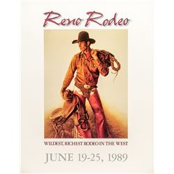 1989 Reno Rodeo Poster