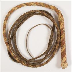 Braided whip