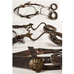 Civil War US Bit and Headstall
