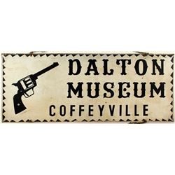 Dalton Museum Tin Sign