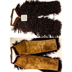Harpham Bros. Dark Brown Woolie Chaps