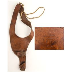 Leather George Lawrence Skeleton Holster