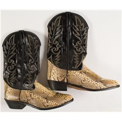 Lucchese Fancy Rattlesnake Boots