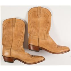 Lucchese Tan Cowboy Boots