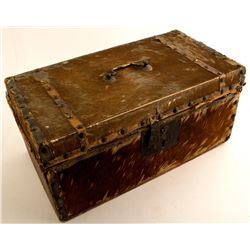 Small Cowhide Trunk