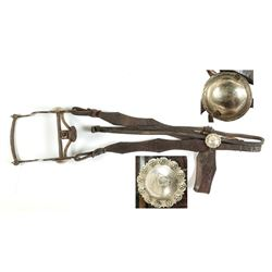 Spade Bit and Headstall with 2 Conchos