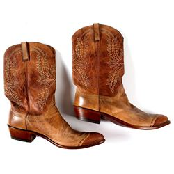 Two Tone Lucchese Cowboy Boots