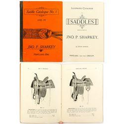 Ultra rare 19th Century Saddle Catalog from Little Known John P. Sharkey