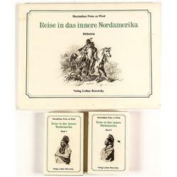 Verlag Borowsky Folio and 2 Books