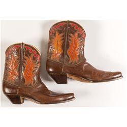 Vintage Justin Shorty Boots