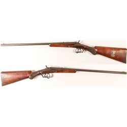 May Lillie's World Champion Shooter 1893 Floebert .22 cal. target rifle