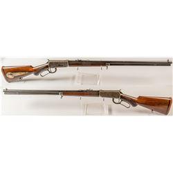 Pawnee Bill's (Major G. W. Lillie) Winchester model 94 Deluxe