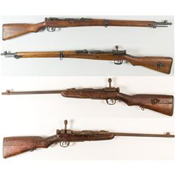 Arisaka Model 99 Rifle and Model 38 Carbine