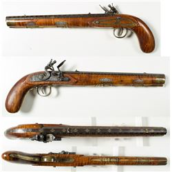 Flintlock Duelling Pistol