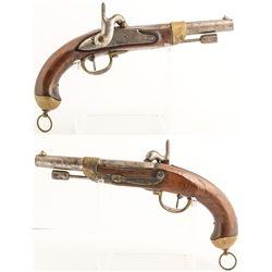 French Chatellerault model 1822 pistol