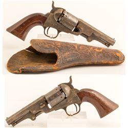 Manhattan 5 shot revolver 36 cal.