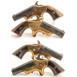 Pair of Southern Derringers .41 cal. rimfire