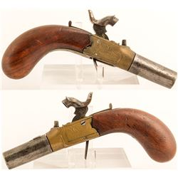 Vergette French percussion boot pistol
