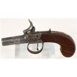 Westwood English Boxlock Pocket Pistol