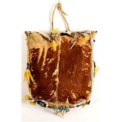 Beaded Calf Skin Bag