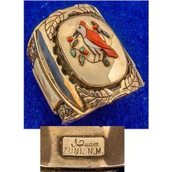 Beautiful Zuni Cardinal Bracelet