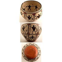 Billy Veale Anasazi Design Pottery