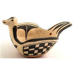 Bird Effigy Bowl by Santana Melchor