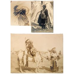 Buffalo Bill Wild West Show Native American Silver Prints