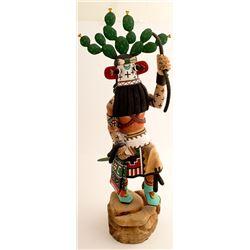 Cactus Kachina by Terrance Lewis