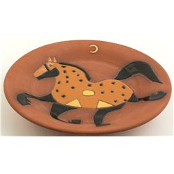Horse Design on Bowl