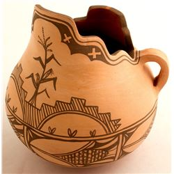 Clay Pitcher by G. C.