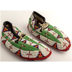 Plains Ceremonial Moccasins