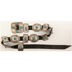 Silver Butterfly and Round Concho Belt