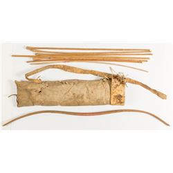 Small Child's Quiver and 7 Arrows
