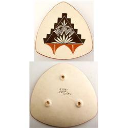 S. Teller Triangular Plate