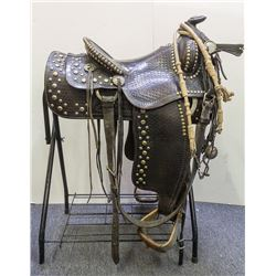 Ozark Leather Parade Saddle