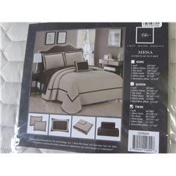 New twin comforter set