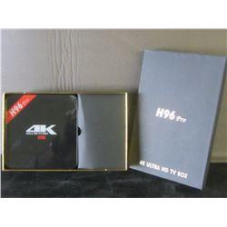 New H96 Pro 4k Ultra HD TV box