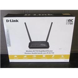 Dlink wireless AC750