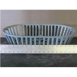 Cast Iron planter basket