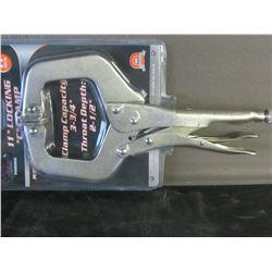 New 11 inch locking C clamp
