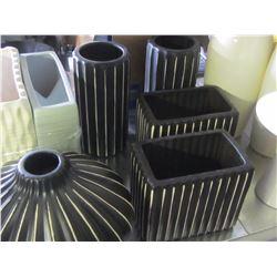 Vases  set 5 piece