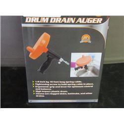 New 16 foot drum drain auger