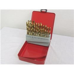 25 piece Brad Point drill bits