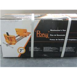 New 7 inch Pony woodworkers vise