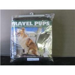 New Travel Pups car seat protector
