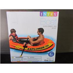 New Intex Explorer 200 boat