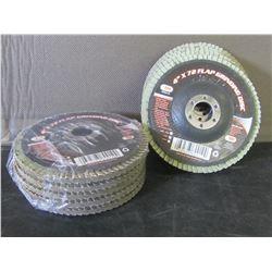 New flap grinding discs