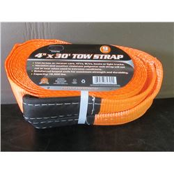 New tow strap